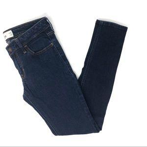 Hollister Short Dark Wash Skinny Jeans